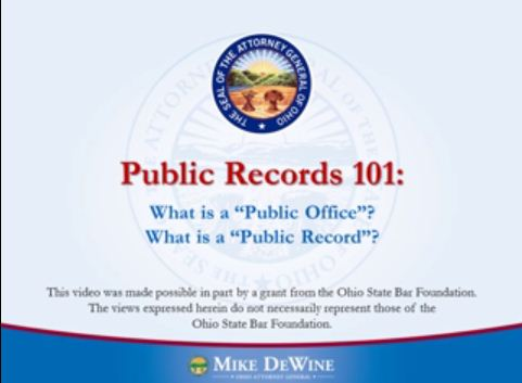 Thumbnail Image of Public Records 101
