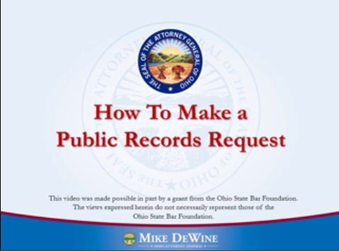 Thumbnail Image of How to Make a Public Records Request