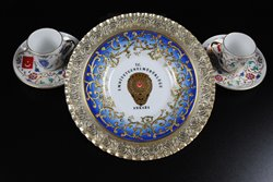 Thumbnail View of Turkish Porcelain Dish and Tea Cups of Attorney General Jim Petro