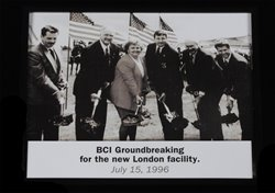 Thumbnail View of Photograph of Attorney General Betty D. Montgomery at the BCI Groundbreaking