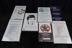 Thumbnail View of Collection of Public Service Posters of Attorney General Lee Fisher